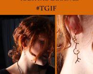 #TGIF earrings